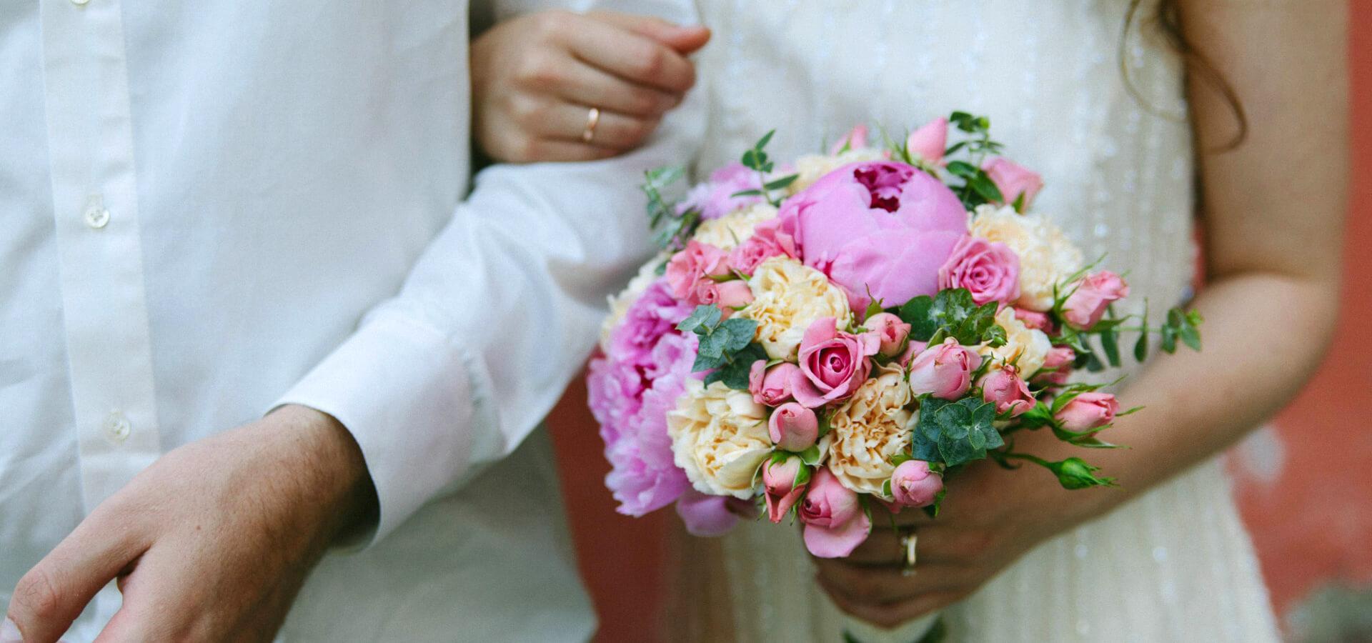 Правила выбора цветов на свадьбу